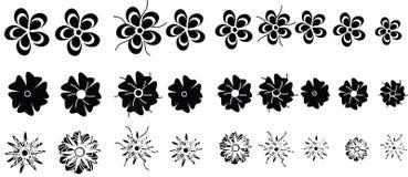 Fleurs de vecteur Photographie stock