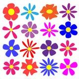 Fleurs de vecteur Photo libre de droits