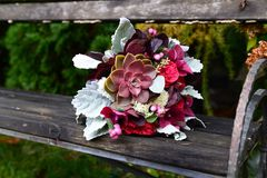 Fleurs de Weding Photographie stock libre de droits