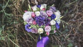Fleurs de Weding photo stock