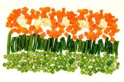 Fleurs des légumes Photographie stock