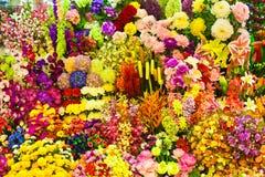 Fleurs du tissu pour l'exportation Photographie stock libre de droits