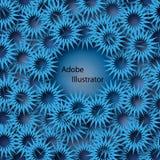Fleurs en forme d'étoile Image stock