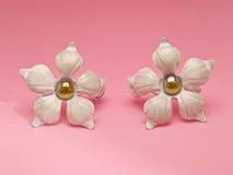 Fleurs en métal photographie stock libre de droits