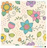 Fleurs en pastel de ressort Photos stock