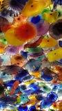 Fleurs en verre par Chihuli Image libre de droits