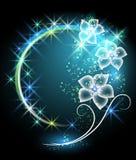 Fleurs et étoiles Images libres de droits