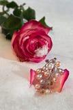 Fleurs et bijoutier Photo libre de droits