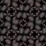 Fleurs et feuilles de chrysanthème Vecteur Fleurs d'automne Composition décorative Configuration sans joint Images libres de droits