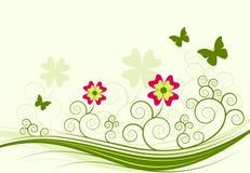 Fleurs et guindineaux Photo stock