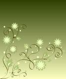 Fleurs et lames Photos libres de droits
