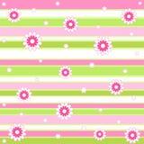 Fleurs et pistes Image stock