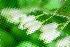 Fleurs et verts dans le modèle de tuiles Photo stock