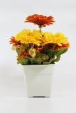 Fleurs faites à partir du plastique Photographie stock libre de droits