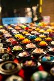 Fleurs faites de savon images stock