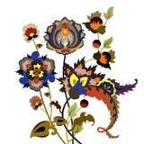 Fleurs fantastiques Photographie stock