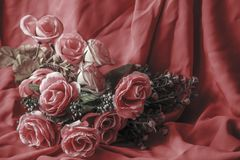 Fleurs fausses Photographie stock