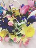 Fleurs fausses Image libre de droits