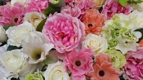 Fleurs fausses Photos stock
