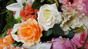 Fleurs fausses Photographie stock libre de droits