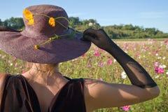 Fleurs femelles photographie stock libre de droits