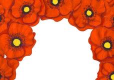 Fleurs feutres de stylo Image stock