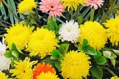 Fleurs funèbres pour des condoléances Photo stock