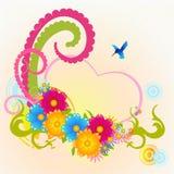 Fleurs géniales illustration libre de droits