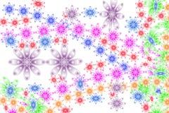 Fleurs heureuses de Hippie Images stock