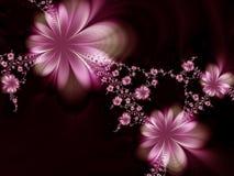 Fleurs idylliques Photo libre de droits