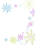 fleurs jolie διανυσματική απεικόνιση