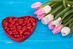 Fleurs, jour de valentines et concept de vacances Photo stock