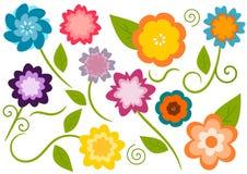 Fleurs mignonnes Photographie stock libre de droits
