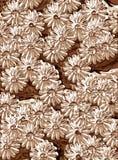 Fleurs métalliques Image libre de droits
