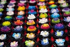 Fleurs multicolores Images stock