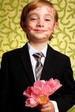 Fleurs pour des baisers de Gramma Photographie stock