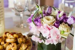 Fleurs pour la décoration Photo stock