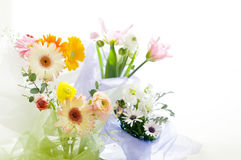 Fleurs pour la table Photographie stock