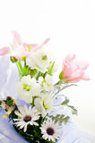 Fleurs pour la table Image stock