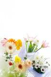 Fleurs pour la table Images stock