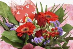 Fleurs pour le jour de valentines photos libres de droits