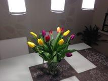Fleurs pour le jour du ` s de femme le 8ème mars photographie stock