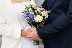 Fleurs pour le mariage Image libre de droits