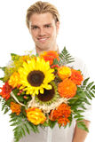 Fleurs pour vous Photos libres de droits