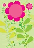 Fleurs Profile_eps Photographie stock libre de droits