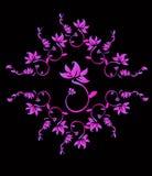 Fleurs roses illustration libre de droits