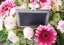 Fleurs roses colorées Photographie stock libre de droits