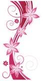 Fleurs, résumé, été, rose Images libres de droits