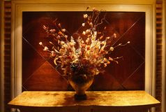 Fleurs sèches d'automne Images stock