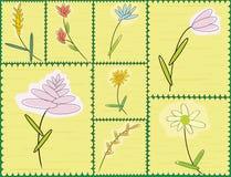 Fleurs stylisées illustration libre de droits